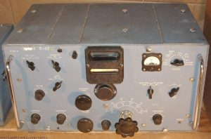 HF Radio receiver Krot-M was produced from 1953 to 1960.