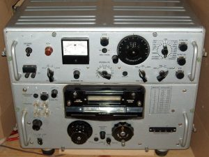 """Radio receiver R-250 """"Kit"""" is a Soviet short-wave radio receiver for long-distance communications, radio reconnaissance and direction finding, military and civil purposes"""