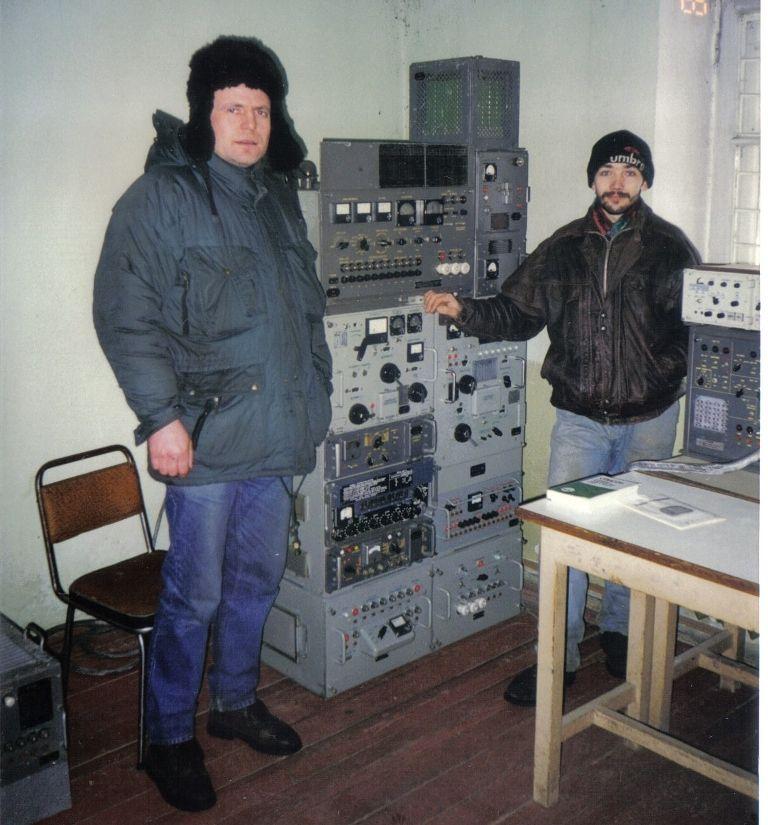 Club Hamradio station UZ3DWO. Radio station R-140 series of stationary and automobile HF radio stations of medium power.