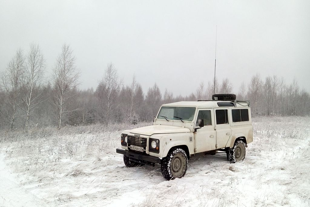 Mobile Ham radio station RA3DAK/M Vladimir region RDA VL-13 near the village Zhelnino RAFA HGZ9.