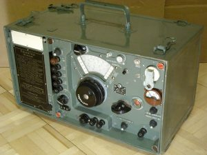 """HF radio receiver R-311 """"Omega""""- Soviet shortwave radio for military use with self-powered, manufactured from 1954 until the mid-1970s."""